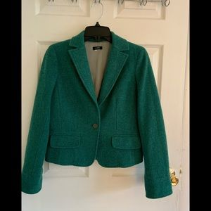 J.Crew Green Jacket, The size small.